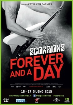 Scorpions - Forever and a day (2015)