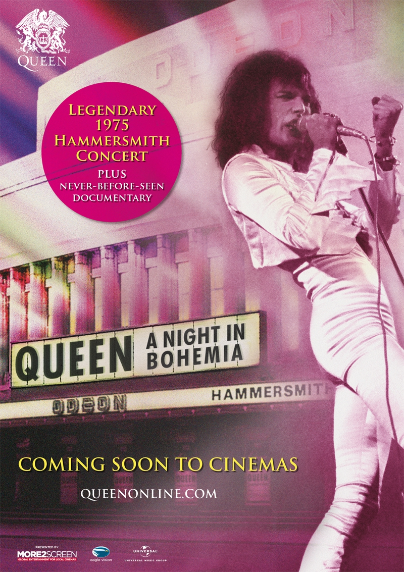Queen: A night in Bohemia (2016)