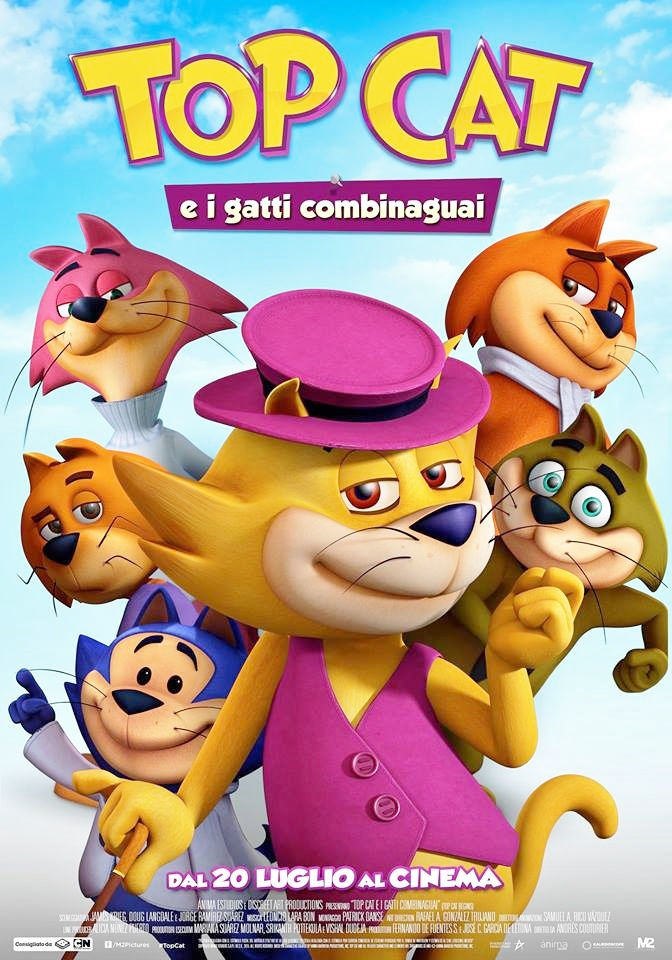 Top Cat e i gatti combinaguai (2016)