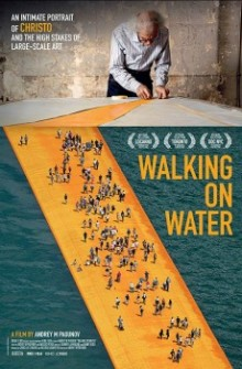 Christo - Walking on water (2019)